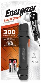 Latarka Energizer Hard Case Profesional Led + 2 baterie AA, czarny