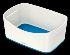 Pojemnik bez pokrywki Leitz MyBox Wow,246x160x98mm, biało-niebieski
