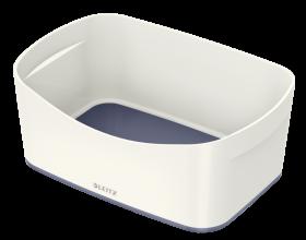 Pojemnik bez pokrywki Leitz MyBox Wow, 246x160x98mm, biało-szary