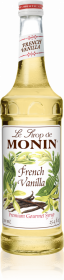 Syrop Monin, wanilia Francuska, 700ml