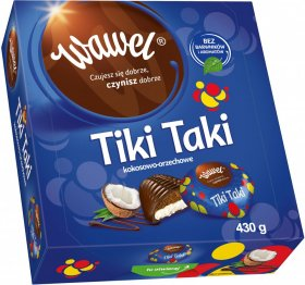 Bombonierka Wawel Tiki Taki, 430g