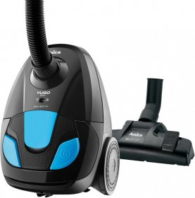 Odkurzacz workowy Amica, Yugo VM1045, 900W, czarno-niebieski