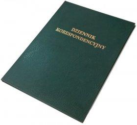 Dziennik korespondencyjny Barbara, A4, 300 kart, zielony