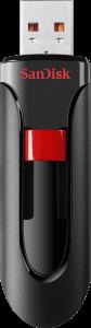 Pendrive SanDisk Cruzer Glide, 32GB, USB 2.0, czarny