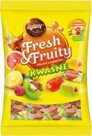 Galaretki Wawel Fresh&Fruity, kwaśne, 1kg