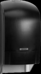 Dozownik systemowy Katrin Inclusive do papieru toaletowego - czarny