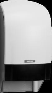 Dozownik systemowy Katrin Inclusive do papieru toaletowego - biały