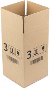 Karton klapowy Ofix Economy, 200x200x350 mm, brązowy