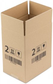 Karton klapowy Ofix Economy, 200x150x250 mm, brązowy