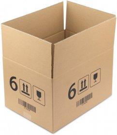 Karton klapowy Ofix Economy, 400x300x250 mm, brązowy