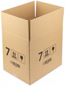 Karton klapowy Ofix Economy, 400x300x350 mm, brązowy