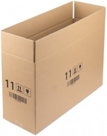 Karton klapowy Ofix Economy, 600x200x350 mm, brązowy