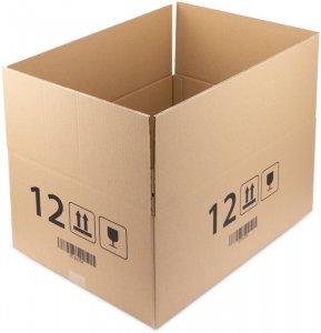 Karton klapowy Ofix Economy, 600x400x250 mm, brązowy