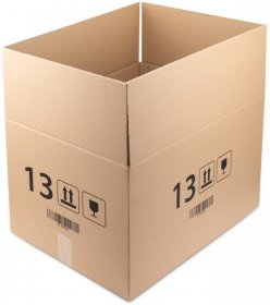 Karton klapowy Ofix Economy, 600x400x350 mm, brązowy