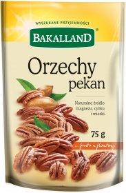 Orzechy pekan Bakalland, 75g