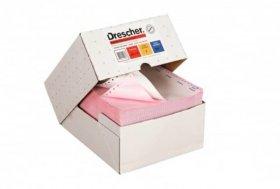 Papier do drukarki igłowej (skladanka) Drescher, 240mm x 6 1+1 kolor nadruk, 900 składek