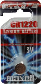 Bateria Maxell, CR1220, 11238200, 3V, 1 sztuka