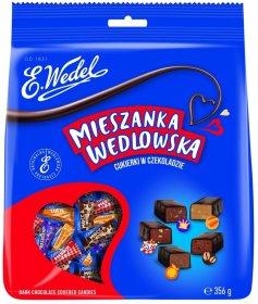 Mieszanka Wedlowska classic, mix smaków, 356g