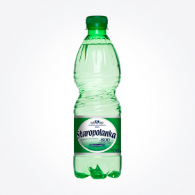 Woda gazowana Staropolanka, 0.5L