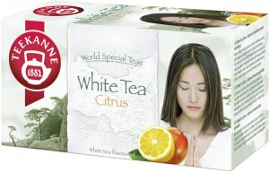 Herbata biała smakowa w kopertach Teekanne White Tea Citrus, cytryna i mango,20 sztuk x 1.25g