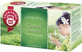 Herbata zielona smakowa w kopertach Teekanne Green&Jasmine, jaśmin, 20 sztuk x 1.75g