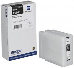 Tusz Epson (C13T907140)  T9071 XXL, 202ml, black (czarny)