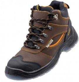 Buty robocze Urgent 120 S3, skóra bydlęca, rozmiar 45, brązowy