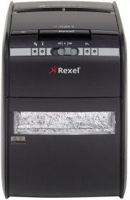 Niszczarka automatyczna Rexel, Auto+ 90X, konfetti 4 x 45 mm, 90 kartek, P-3, czarny