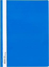 Skoroszyt plastikowy Ofix Economy, A4, PP, do 200 kartek, niebieski