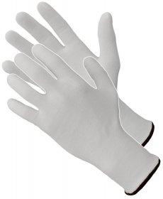 Rękawice tkaninowe Art Master, RBi+, bawełna, rozm 7, biały