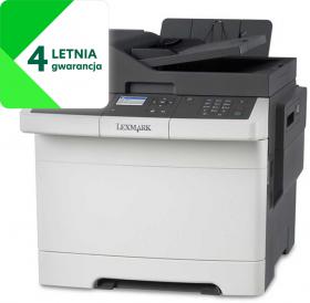 Urządzenie wielofunkcyjne Lexmark CX317dn, z drukarką, kopiarką i skanerem, kolor