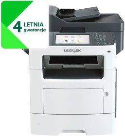 Urządzenie wielofunkcyjne Lexmark MX517de, z drukarką, kopiarką, skanerem i faxem, mono