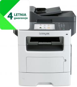 Urządzenie wielofunkcyjne Lexmark MX317dn, z drukarką, kopiarką, skanerem i faxem, mono