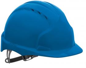 Kask ochronny JSP Evo2, niebieski