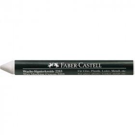 Kredka woskowa Faber-Castell, 2253-S, do znakowania, biały