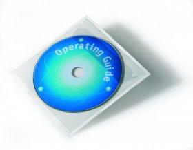Kieszeń samoprzylepna Durable Pocketfix na płytę CD z klapką, 10 sztuk