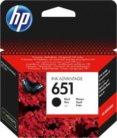 Tusz HP 651 (C2P10AE), 600 stron, black (czarny)