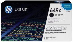 Toner HP 649X (CE260X), 17000 stron, black (czarny)