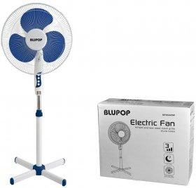 Wentylator stojący Blupop, 40 cm, biały