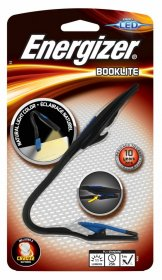 Latarka Energizer Booklite+ 2 baterie CR2032, czarno-niebieski