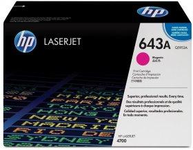 Toner HP 643A (Q5953A), 10000 stron, magenta (purpurowy)