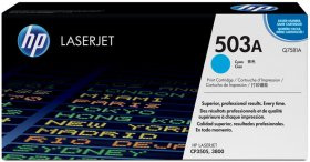 Toner HP 503A (Q7581A), 6000 stron, cyan (błękitny)
