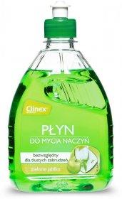 Płyn do ręcznego mycia naczyń Clinex Hand Wash, zielone jabłko, 500ml