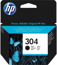 Tusz HP 304 (N9K06AE), 120 stron, black (czarny)