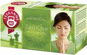 Herbata zielona smakowa w kopertach Teekanne Zen Chai, cytryna i mango, 20 sztuk x 1.75g
