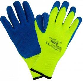 Rękawice ocieplane Urgent 1010, rozmiar 10, zielono-niebieski