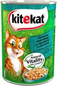 Karma dla kota Kitekat, 400g, z makrelq w galaretce