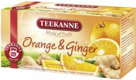 Herbata owocowa w kopertach Teekanne Orange&Ginger, pomarańcza i imbir, 20 sztuk x 2.5g