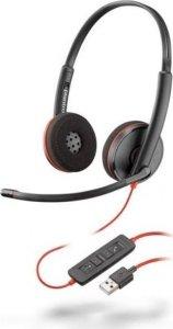 Słuchawki przewodowe Plantronics Blackwire C3220 USB-A (następca C320 M), czarny
