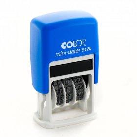 Datownik Colop Mini Printer S-120, wersja cyfrowa, wkład czarny